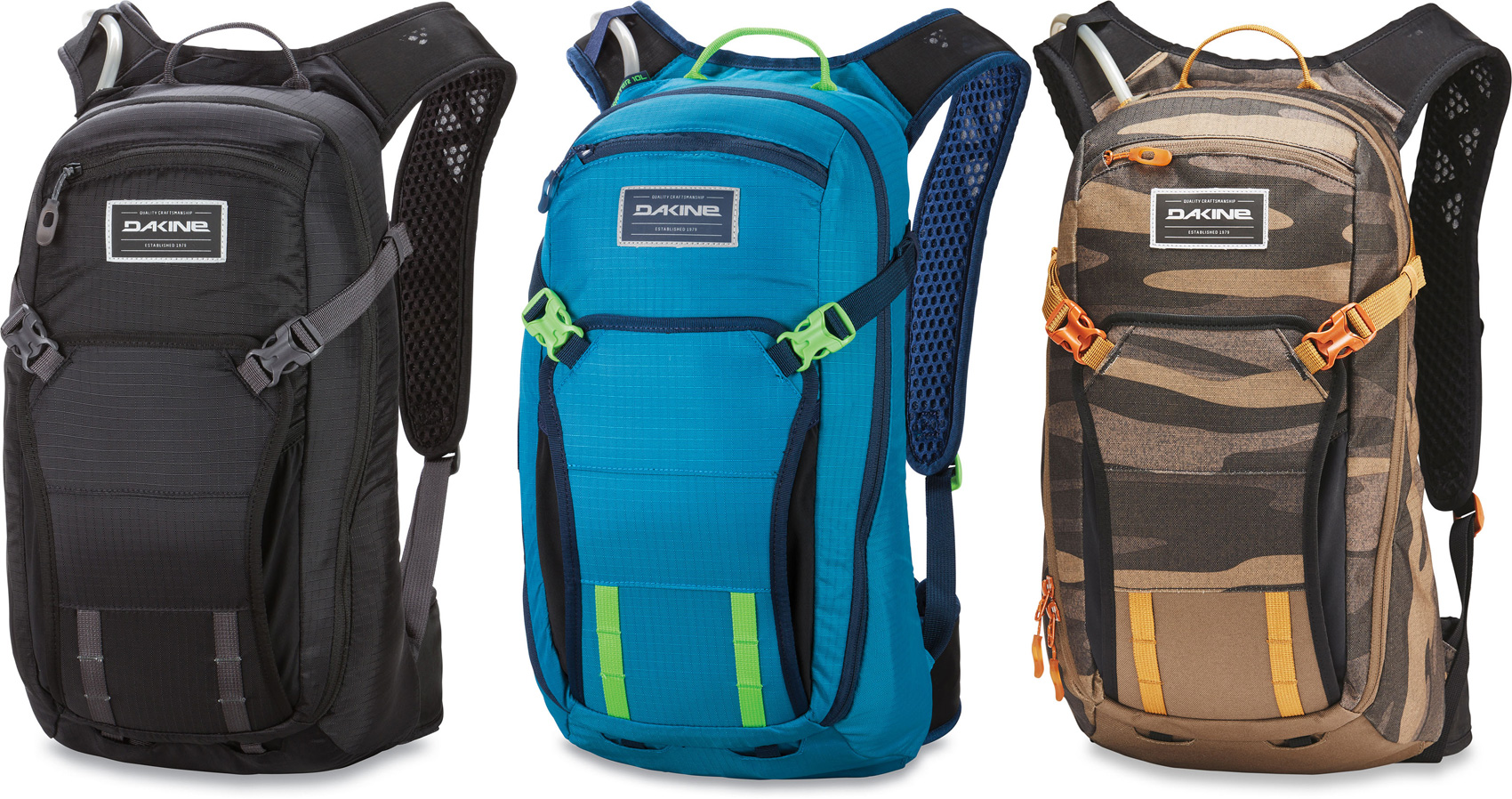 Dakine Packs Shop Range